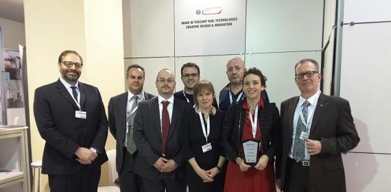 Z LAB AND DITECFER TO EURASIA RAIL 2016