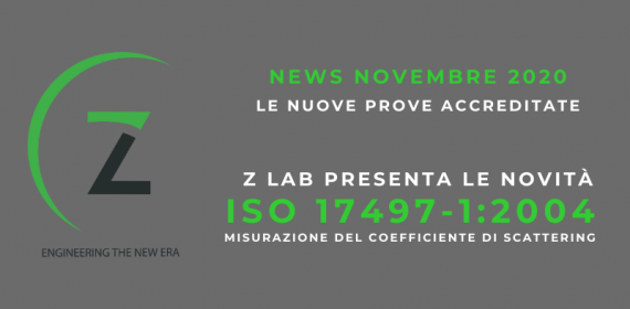 News Novembre 2020 - Scattering ISO 17497-1:2004