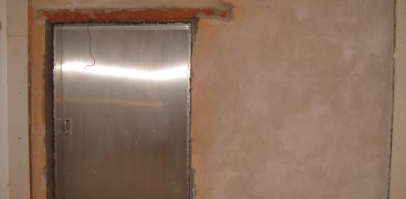 Z LAB_Test di Laboratorio su porte automatiche_UNI EN ISO 140-3:2006 – UNI EN ISO 717-1:2007